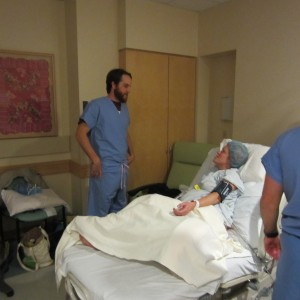 Homebirth Cesarean Before Surgery